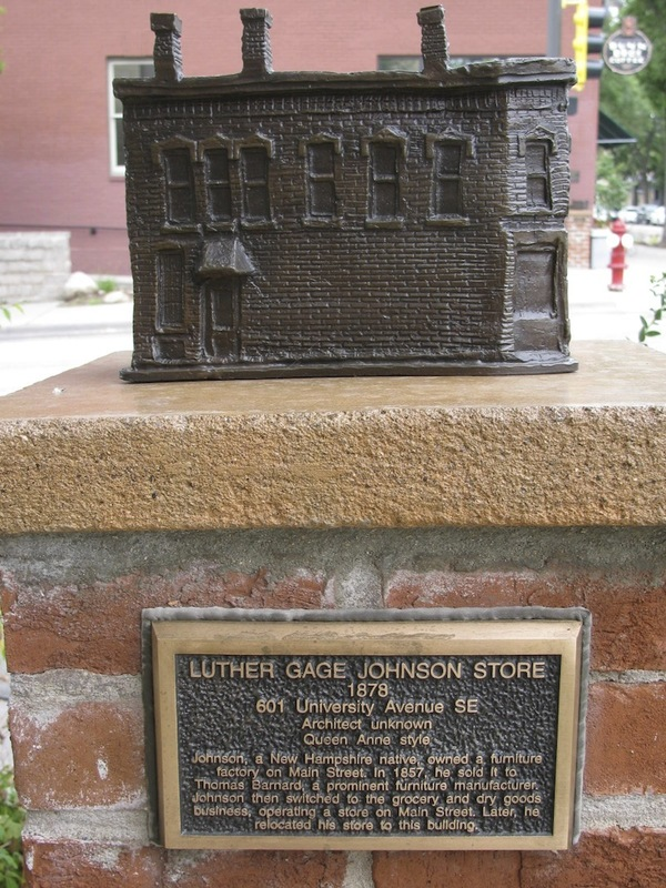 Luther Gage John Store Sculpture