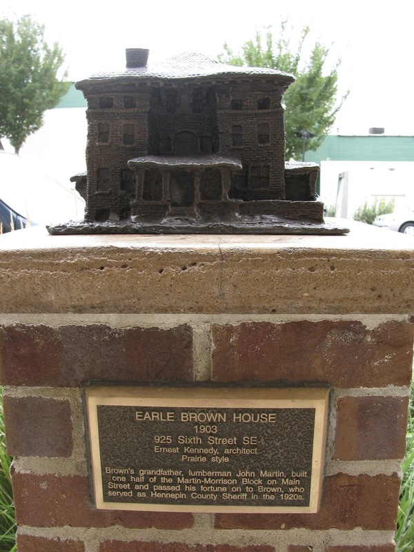 Earle Brown House Sculpture