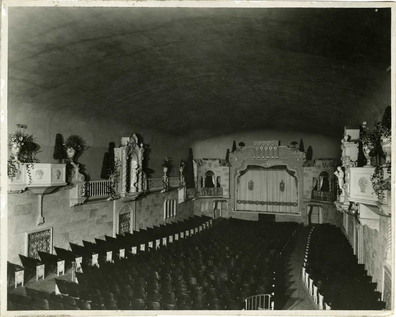 Granada Theater auditorium