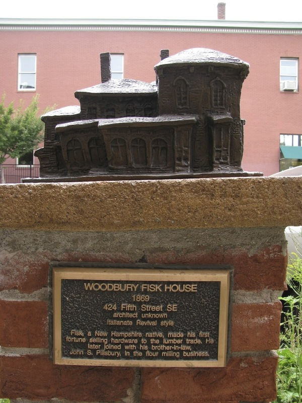 Woodbury Fisk House Sculpture