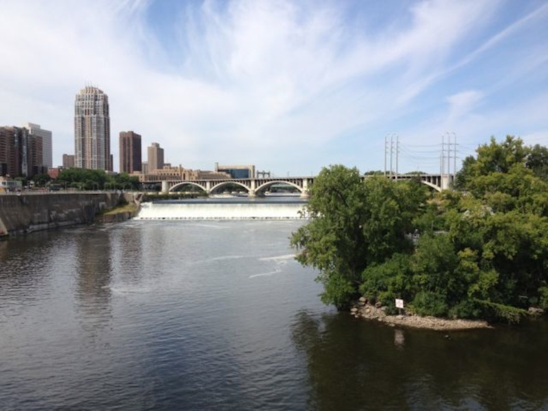 View from Stone Arch Bridge