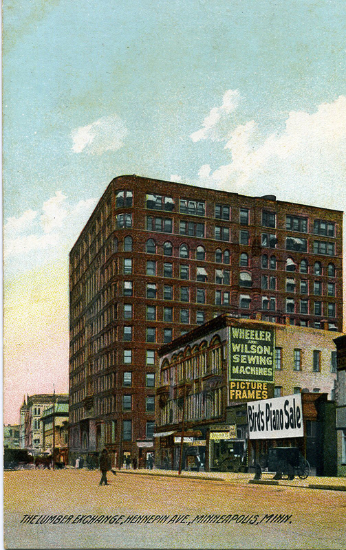 Lumber Exchange Postcard