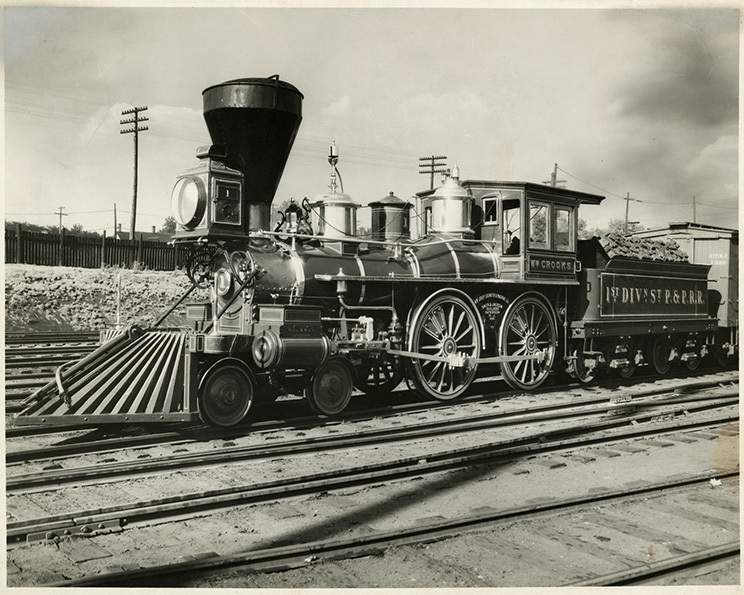 St. Paul & Pacific Railroad locomotive William Crooks