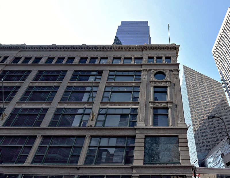 Dayton's Building -- Nicollet Mall facade