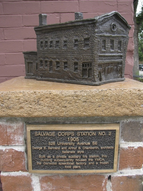 Salvage Corps Station No. 2 Sculpture