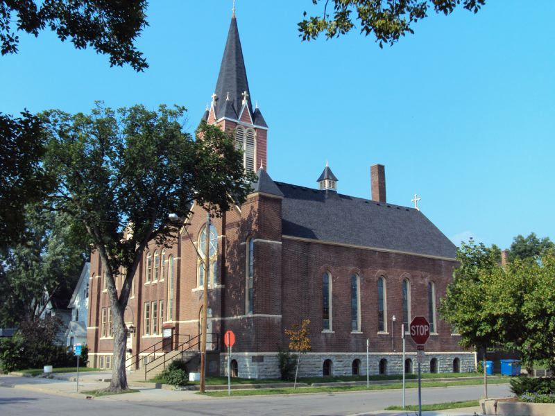 Mount Vernon Missionary Baptist Church (formerly St. Petri Kirche) ca. 2010