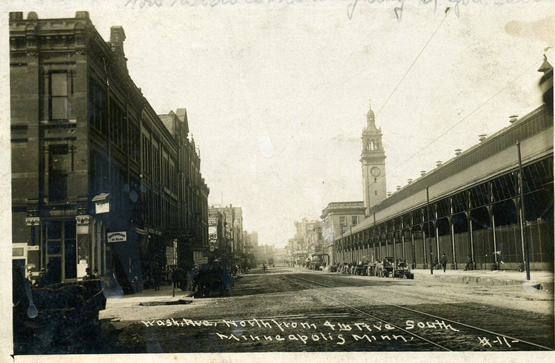 Milwaukee Depot Postcard, ca. 1910