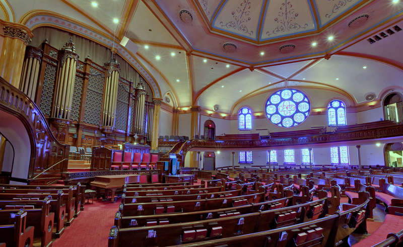 Westminster Presbyterian Church -- main sanctuary