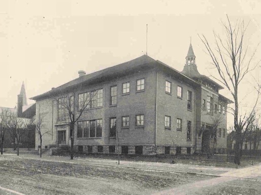 Second Ascension School building, built early 1900s