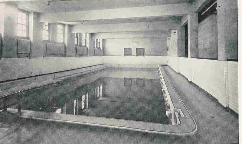 Pool in Ascension Club ca. 1940