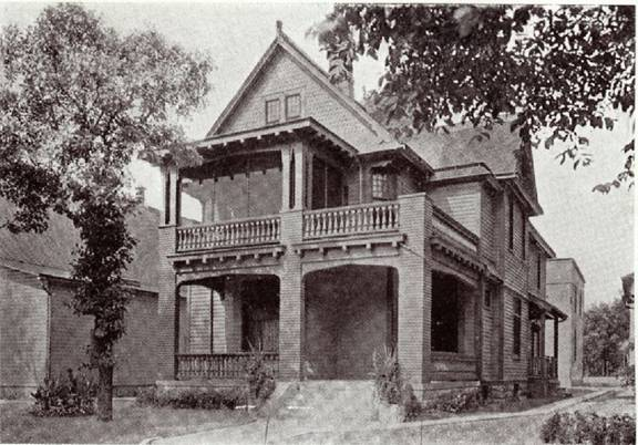 Original parsonage for the Church of the Ascension, date unknown