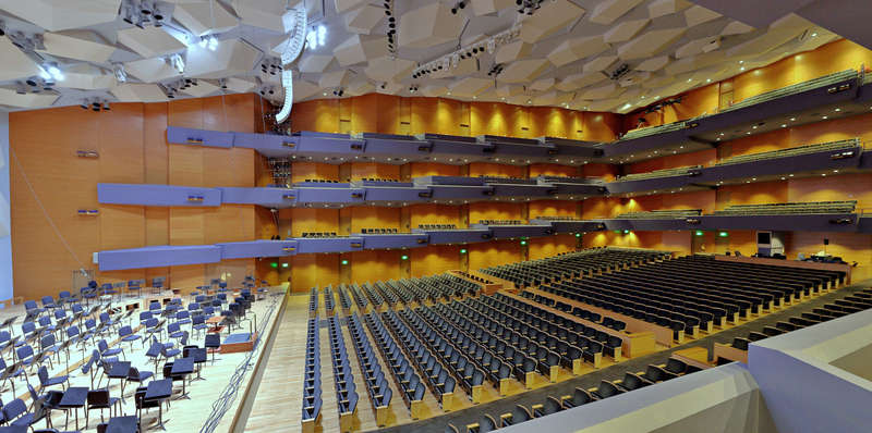 Orchestra Hall auditorium interior
